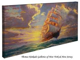 """Thomas Kinkade Wrap - Courageous Voyage  – 16"""" ... - $165.00"""