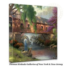 "Thomas Kinkade Wrap - Old Fishing Hole  – 14"" x... - $75.00"