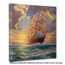 """Thomas Kinkade Wrap - Courageous Voyage  – 14"""" ... - $75.00"""