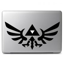 Zelda Triforce Emblem for Macbook Air Pro Laptop Car Window Decal Sticker - $4.50