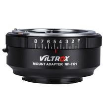 VILTROX NF-FX1 Camera Lens Adapter Ring For Nikon G&D-mount Lens to FUJI... - $53.28