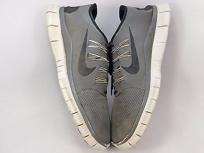 Nike Free 5.0 Men's Running Shoes Size 14 M (D) EU 48.5 Gray 579959-001