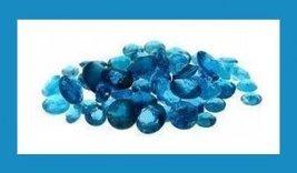 3.00ctw Lot of NEON PARAIBA BLUE APATITE Round Cut Natural Loose Gemstones - $29.99