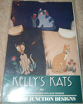 Kelly's Kats Applique pattern Indygo Junction #... - $8.91