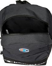 Champion Men's Manuscript Canvas School Backpack Shoulder Zipper Book Bag image 9