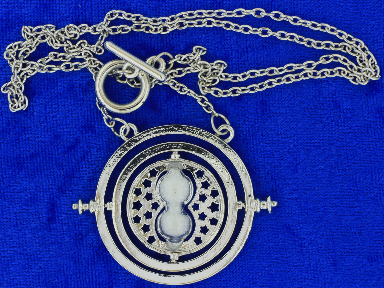 Time turner necklace silver