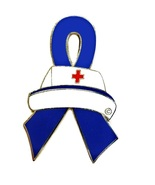 Child Abuse Lapel Pin Nurse Cap Blue Awareness ... - $10.97