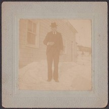 Grandpa Lemelling Antique Cabinet Card Photo - $17.50