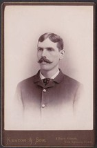 George H. Hewitt Cabinet Photo - New London, CT (1890) - $17.50