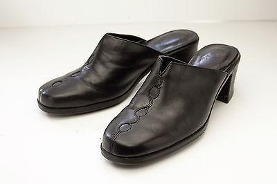Clarks 6.5 Black Mules Women's Shoes