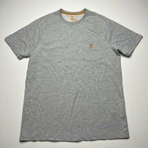 Men's Carhartt Force Relaxed Fit Gray Short Sleeve T Shirt Size Medium P... - £14.34 GBP