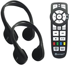 Chrysler Dodge Jeep OEM Headphones Control Uconnect Audio Kit