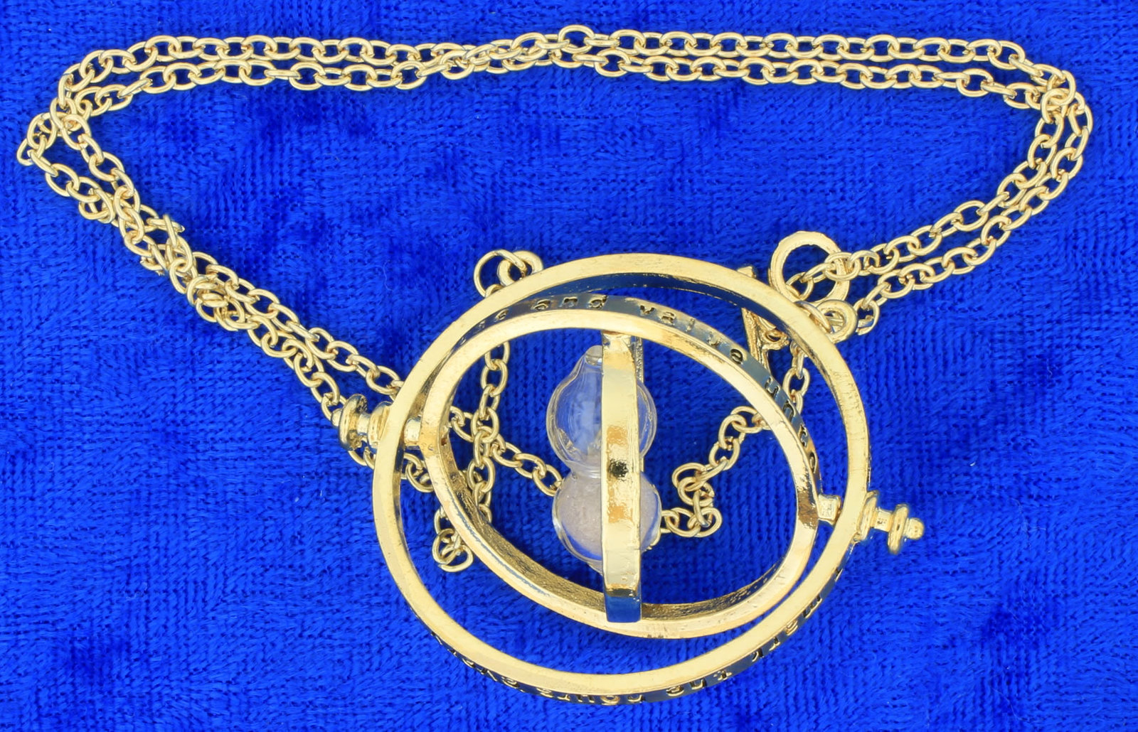 Time Turner Necklace Gold/Beige Hermione Granger's Chain Length Choice