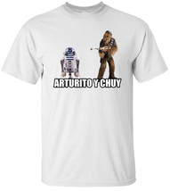 Arturito and Chuy White T Shirt - $17.50+