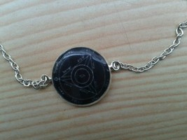 Fourth Pentacle of Saturn bracelet.  For executing of ruin, destruction,... - $19.99