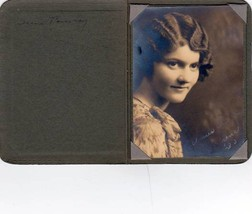 Irene Pomeroy 1930 Graduation Photo - Lewiston, Maine - $17.50