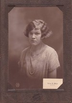 Loise E. White Cabinet Photo - Gardiner Maine High School - $17.50