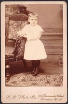 Elvia M. Allen Cabinet Photo - Providence RI (Sister to Lillian) - $17.50
