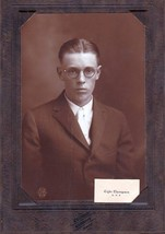 Clyde Thompson Cabinet Photo - Gardiner Maine High School - $17.50