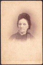 May Fifield (Flint ?) Antique Cabinet Photo - New Hampshire ? - $17.50