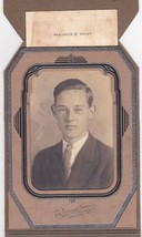 Maurice E. West ca. 1935 Graduation Cabinet Photo - Sanford, Maine - $17.50