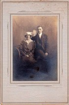 Claude Deane & Clara Mitchell Nutter Cabinet Photo - Machias, Maine - $17.50