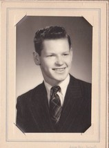 Lewis Delano Cabinet Photo - Portland, Maine Class of 1950 - $17.50