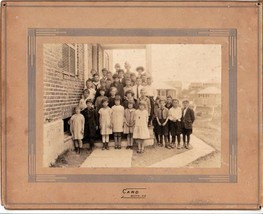 Bath, Maine Grade School Cabinet Photo, circa 1910 - $24.75