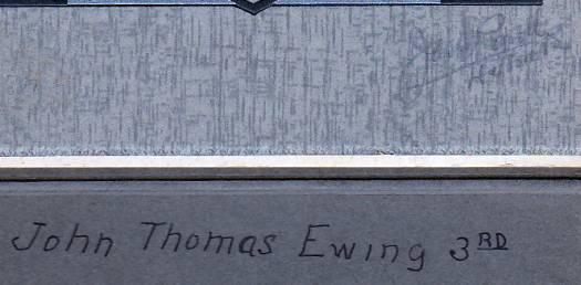 John Thomas Ewing III Antique Cabinet Photo