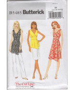 Butterick B5485 - UNCUT and OOP - The Cut Line ... - $4.00