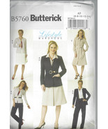 Butterick B5760 - UNCUT and OOP - Lifestyle War... - $4.00
