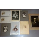 Fred M. Hayes Family Photos - Forrest, Evelyn, Lou, Muriel, Alice (Maine) - $139.50