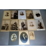 Horace Lowell Cleveland Family (13) Cabinet Photos (Maine) - $227.50
