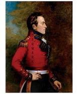 War of 1812 General Sir Isaac Brock 13 x 10 inch Giclee Portrait CANVAS ... - $19.95