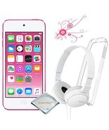 Apple Ipod Touch 16gb Pink (6th Generation) - Clear Case For Ipod Touch - Son... - $224.95
