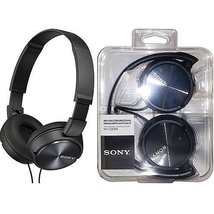 Sony MDR-ZX310-BLACK Wired Headphones with Lightweight Adjustable Headba... - $16.99