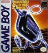 Game Boy Rechargeable Battery Pack / AC Adapter [Game Boy] - $80.00