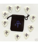 Prince NPGMC Symbol Guitar Pick Pouch Set NPG Musicology - $180.00