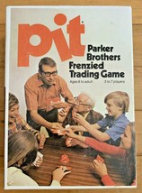 "1973 Parker Brothers ""PIT"" Trading Card Game    COMPLETE W / Instructions - $14.84"