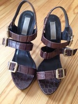 Michael Kors 3 Buckle Women's Heels...Sz: 7.5M.... - $60.00