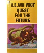 Quest for the Future by A.E. Van Vogt 1970 Science Fiction Paperback Cov... - $4.99