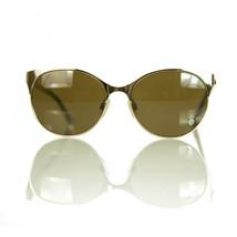 Missoni MI 309 Gold Tone Metal Metallic Frame Brown Lenses Sunglasses - $123.75