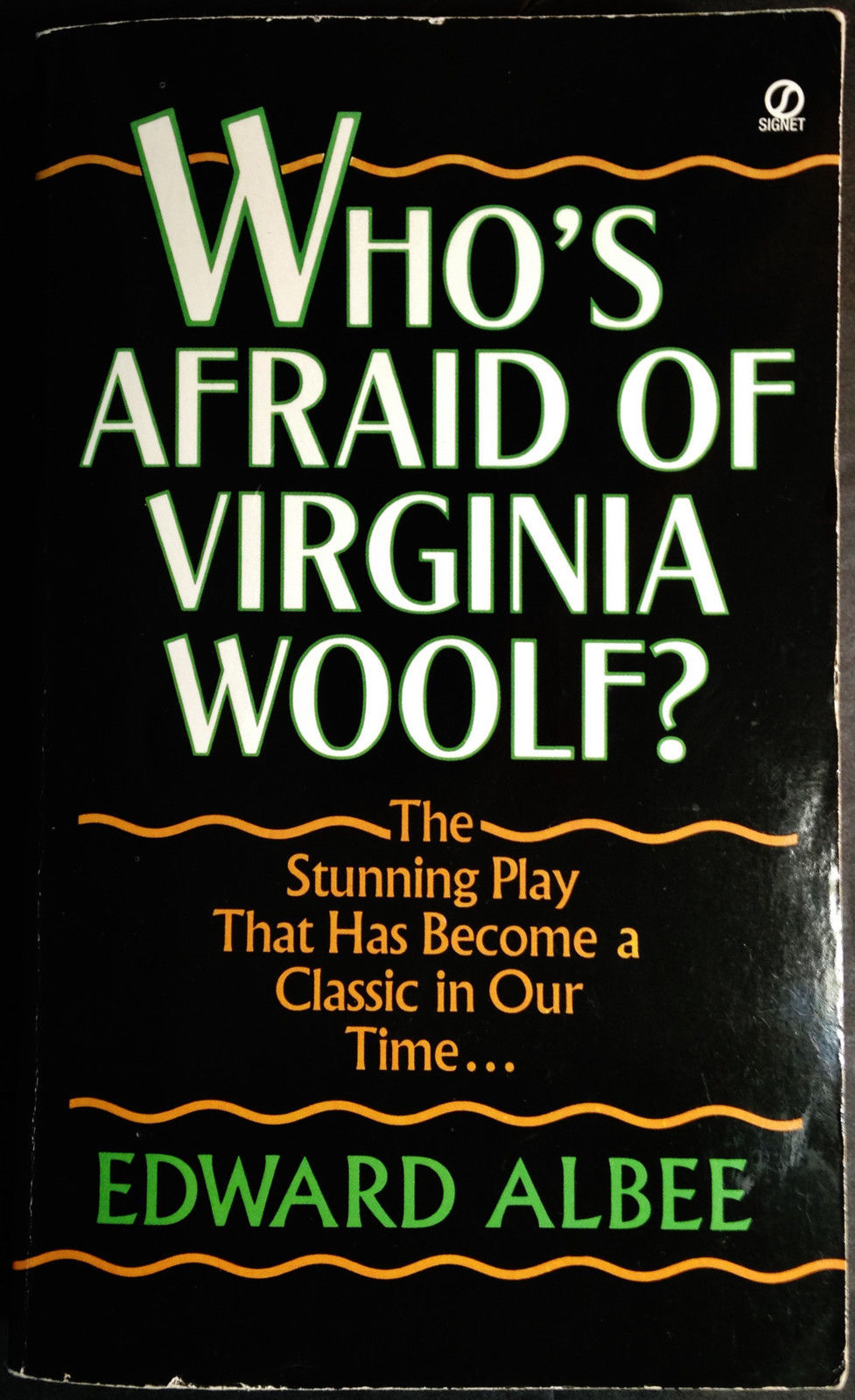 the major role of religion in the play whos afraid of virginia woolf by edward albee Home → sparknotes → literature study guides → who's afraid of virginia woolf who's afraid of virginia woolf edward albee table of contents summary summary.