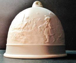 Winter Bell - 1994 Lladro Collectors Society Four Seasons Porcelain Bell - $29.95