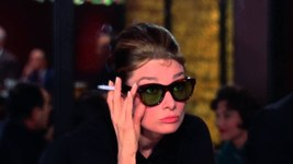 BREAKFAST AT TIFFANY'S SUNGLASSES Holly Golightly Audrey Hepburn Cat Eyed Frames image 7