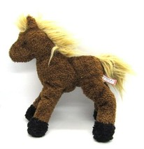 "Douglas Brown CHESTNUT HORSE Plush Stuffed Pony Doll Toy Cuddle Toy 9"" - $14.84"