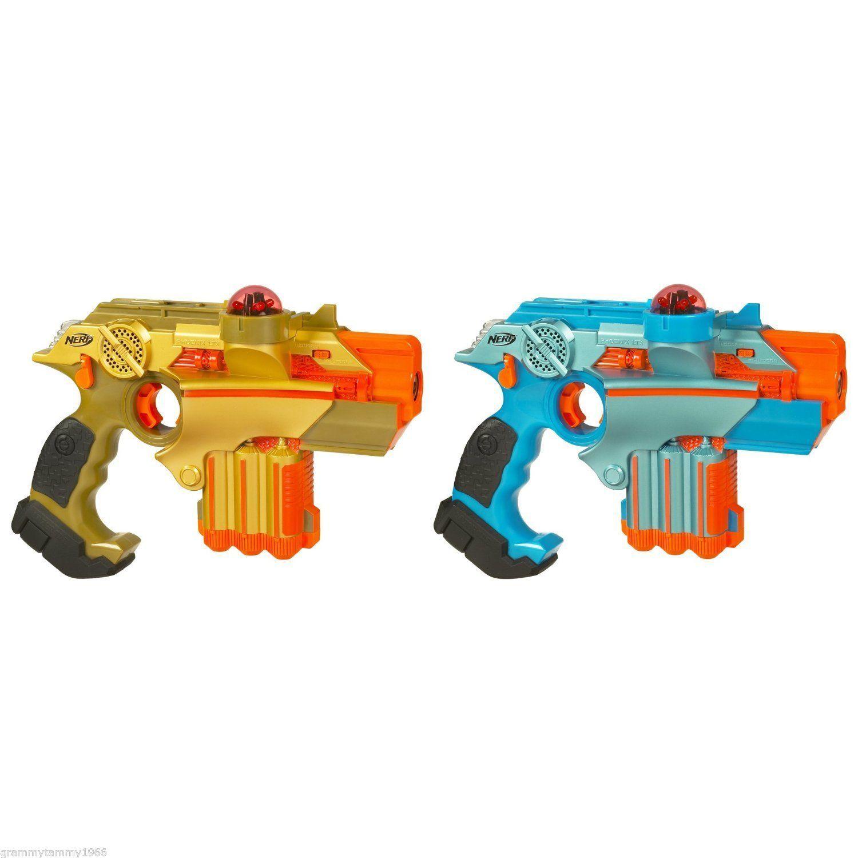 Lazer Tag Phoenix LTX Tagger 2-Pack Laser Gun Guns Set Team 100% GUARANTEED NEW!