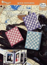 Photo Album Keychains TNS Plastic Canvas PATTERN/INSTRUCTIONS/NEW - $1.14