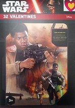 Star Wars Episode VII Valentine Cards 8 Designs Finn Rey BB-8 Kylo Ren C... - $2.45