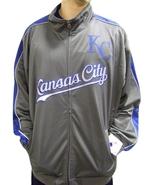 MLB Kansas City Royals Men's Big & Tall Full Zip Tricot Reflective Track... - $34.95+